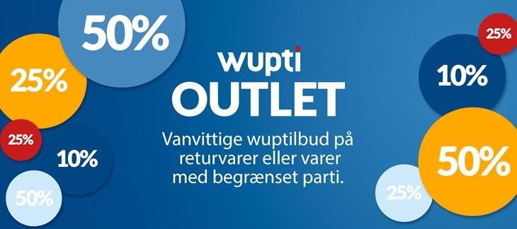 Wupti outlet