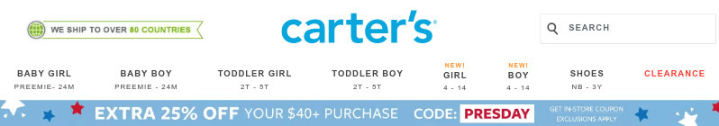 how to save with carters coupon