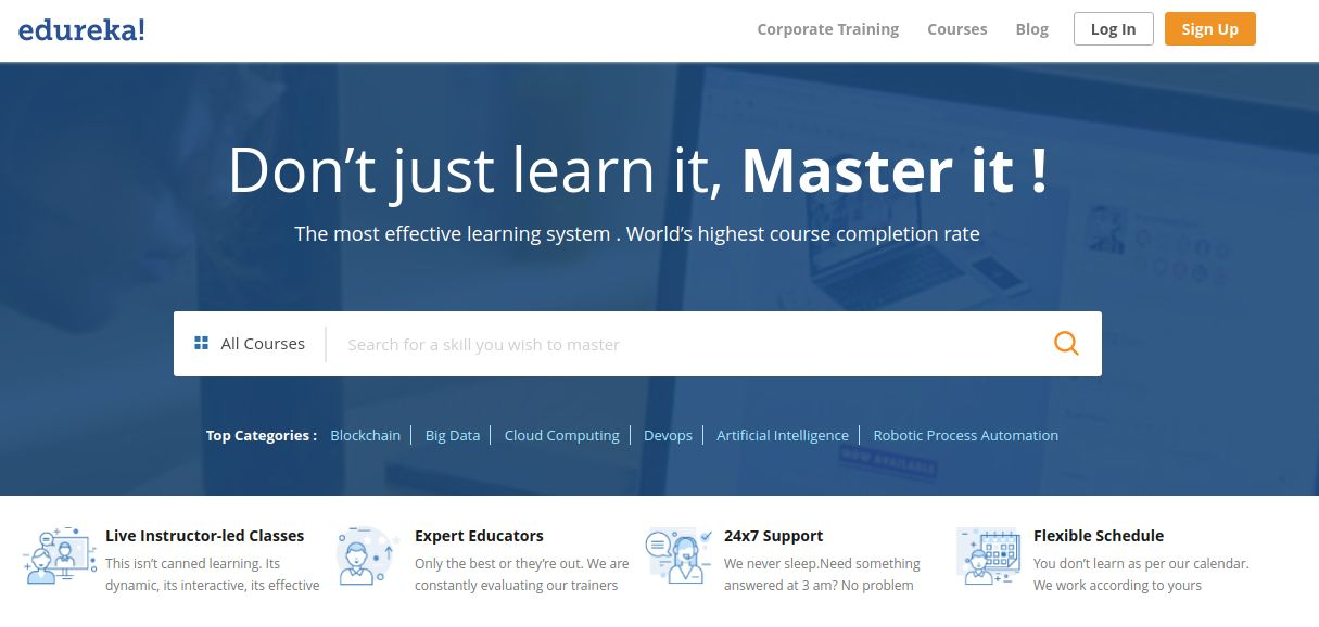 Easy and Profitable education Edureka promo code