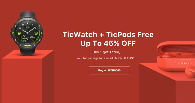 Mobvoi sale: how to but Ticwatch with a discount
