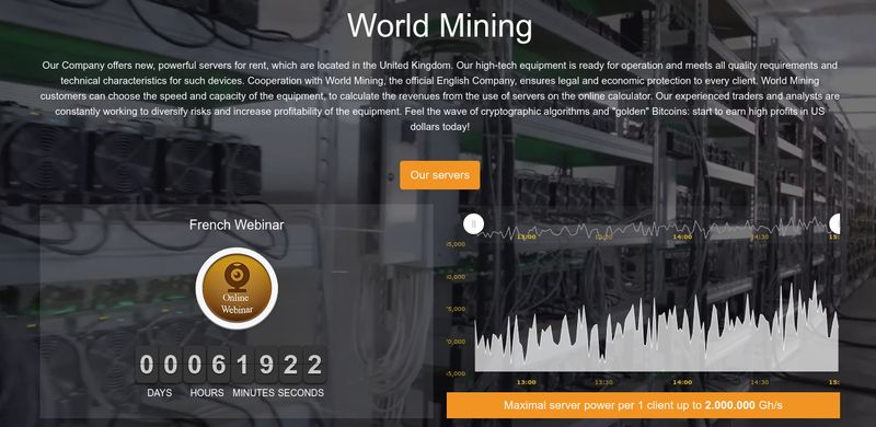 How to save money with World Mining promo code